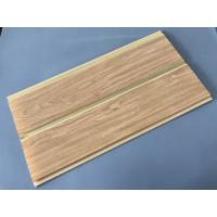 China 250 × 7 MM × 5.95M PVC Wood Panels Middle Groove Shape Easy Installation wholesale