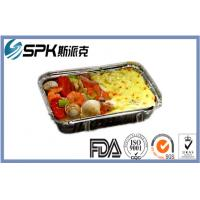 Quality Cybercafe Restaurant Disposable Foil Containers Catering Aluminium Foil Pie for sale