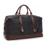 China 16 Ozs  Duffle Canvas Large Travel Bags , 1.25 KG Heavy Duty Travel Luggage Bags  wholesale