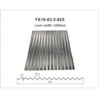 China Hot Dipped Galvanized Corrugated Metal Roofing Tiles Thickness 0.14mm - 1.2mm wholesale