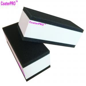Quality ceramic glass Coating sponge nano glass coat applicator pad car polishing sponge auto detail sponge coating agent sponge for sale