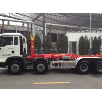 China 290hp Sinotruk T5G 8×4 Hook Lift Garbage Truck One Bed Model Zz3317n3267c1 on sale