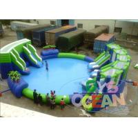 China Lightweight Inflatable Water Toys For Kids / Colored Inflatable Aqua Park wholesale