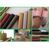 China Eco Friendly Muti Color Kraft Liner Paper 150cm - 0.55mm Washable For DIY Crafts wholesale