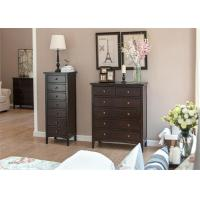 China High Grade Living Room Storage Units , Solid Wood Storage Cabinets With Drawers wholesale