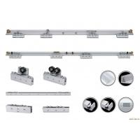Quality Double Exterior Frameless Automatic Glass Door Slider Energy Saving for sale