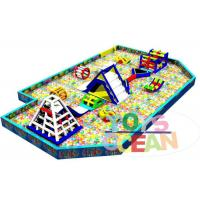 China Outdoor Inflatable Playground Funny Inflatable Giant Ocean Ball Pool For Kids wholesale