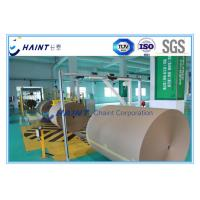 China Customized Paper Roll Handling Conveyor , Paper Reel Handling Equipment With Installations wholesale