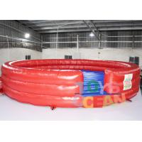 China Hot Inflatable Interactive Games Bounce Mat Mechanical Rodeo Bull Matress wholesale