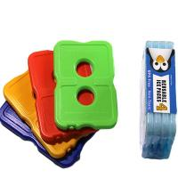 Buy cheap Two holes hard plastic slim cool cooler food gel ice pack for cooler bag from wholesalers