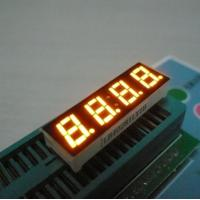 China Four Digit Seven Segment Common Cathode LED Display For Digital Indicator 0.28 Inch wholesale