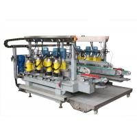 China 6 Motors Glass Grinding Machine Straight Line Double Edging Machine wholesale