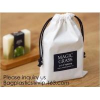 China Cotton Muslin Bags Cotton Drawstring Pouch Gift Bags with Drawstring for Party Supplies Daily Use,Multi-purpose Cotton C wholesale
