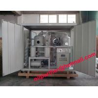 Buy cheap New Sale Dielectric Oil Purifier Module, Transformer Oil Regeneration Vacuum System, filtering dirty transformer  oil from wholesalers