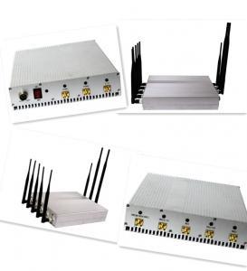 China 4G LTE/3G/GSM 이동 전화 원격 제어 방해기/차단제, 8개의 안테나 wholesale