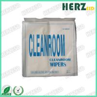 China 1009S 1009D Clean Room Wipes / Lint Free Microfiber Cloth Weight 120g-180g on sale
