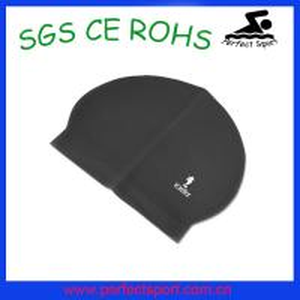 China Professional factory custom high elastic latex swim caps on sale