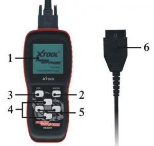 China Professional 401 Diagnositc Tool , OBDII Code Scanner for VW , AUDI , SEAT , SKODA wholesale