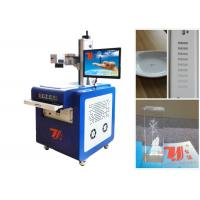 China UV Laser Plastic Engraving Machine 3w 5w 7w With Little Heat Affecting wholesale
