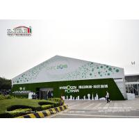 China Strong Frame Outdoor Marquee Tent With 50m Clear Span For Temporary Exhibition wholesale