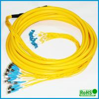China CATV System Fiber Optic Patch Cables With PC / UPC / APC Connectors wholesale