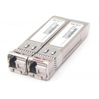 China HP Compatible SFP+ Optical Transceiver , Gigabit SFP Module LC Connector Interface on sale