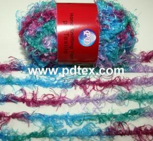 China 1nm 100%polyester hand knitting yarn wholesale