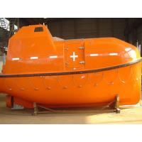 China 15-25 Persons 5.0M Totally Enclosed Lifeboat With 50KN Gravity Luffing Arm Type Davit & 42KN Electric Boat Winch wholesale