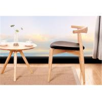 China Living Room Modern Furniture Chairs Low Back Wooden Dining Chairs With Padded Seats wholesale