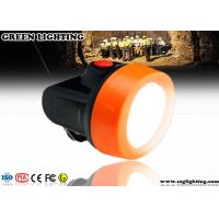China Waterproof Anti Explosive LED Mining Cap Lights 6000 Lux Strong Brightness wholesale