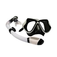 China Scuba Diving Kit Swimming Goggles With Breathing Tube Customized Logo Printing wholesale