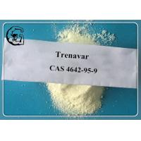 Quality Prohormone Raw Powder Trendione / Trenavar CAS 4642-95-9 for Bodybuilding for sale