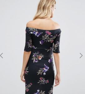 China Stylish Maxi Maternity Wrap Bardot Dress , Off The Shoulder Maternity Dress wholesale