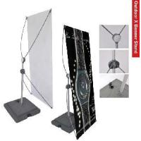 Buy cheap Outdoor X Banner Stands from wholesalers