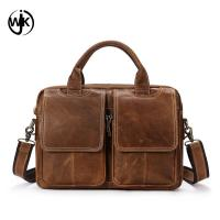 China top quality mens leather briefcase laptop bag online shopping custom shoulder bag men's bag genuine leather wholesale