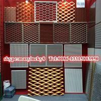 China Anodized aluminum expanded mesh/5052 Expanded aluminum mesh on sale