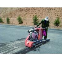 China Energy Saving Floor Planer Scarifier , Cement Groover Machine With Scarifier Teeth wholesale