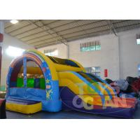 China Outdoor Happy Hop Jumping Castle / Kids Inflatable Playground For Rent wholesale
