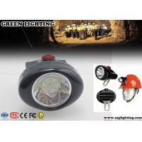 China 1W 4000 Lux CREE Cordless Mining Lights 2.8Ah Rechargeable Li - Ion Battery wholesale