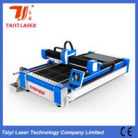 China Pipes And Sheets Cut In One Fiber Laser Cutting Machine 380V Anti Collision Cutting Head wholesale