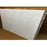 China Aluminum Honeycomb Core Panels Marble Surface Opened Edge Recyclable wholesale