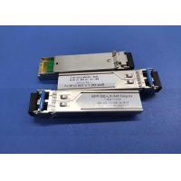 China 1310nm 20KM 100BASE-LX SFP Transceiver Module Single Mode Duplex LC ISO9001 Approved on sale