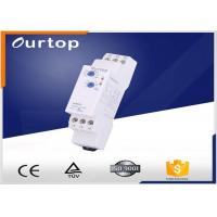 China 18mm Wide Multifunction Timer Relay , Staircase Light Time Switch Multi Voltage wholesale