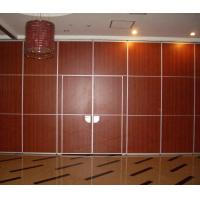 Buy cheap 2000 Meter Height Soundproof Partition Wall / Hotel Movable Wooden Wall Dividers from wholesalers