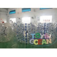 China Children Human Hamster Ball Rental / Inflatable Body Bumper Ball Backyard wholesale