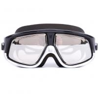 China Tinted Prescription Swim Goggles Nearsighted With Polycarbonate Lens wholesale