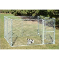 China Light Weight 71kg Walk In 4x2m Dog Run Kennel on sale