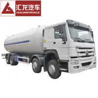 China White Color Pressure Vessel LPG Tank Trailer , Stainless Steel Lpg Tank wholesale