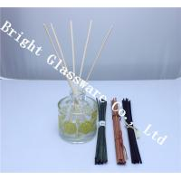 China wholesale perfume bottle and colored wooden reed diffuser sticks wholesale