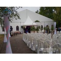 China Rainproof PVC Fabric Wedding Marquee Tent Max. Wind Load 80 ~ 100km/H wholesale